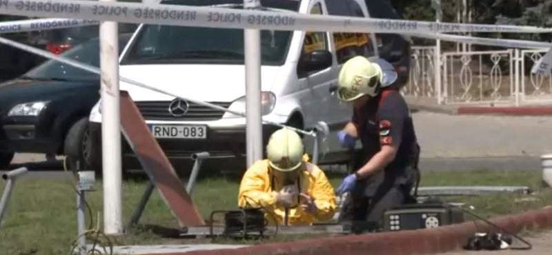 Tartálytakarítás közben meghalt egy férfi az egyik érdi benzinkúton