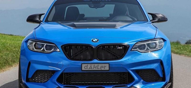 Vezetési élmény kimaxolva: 550 lóerős lett az új BMW M2 CS
