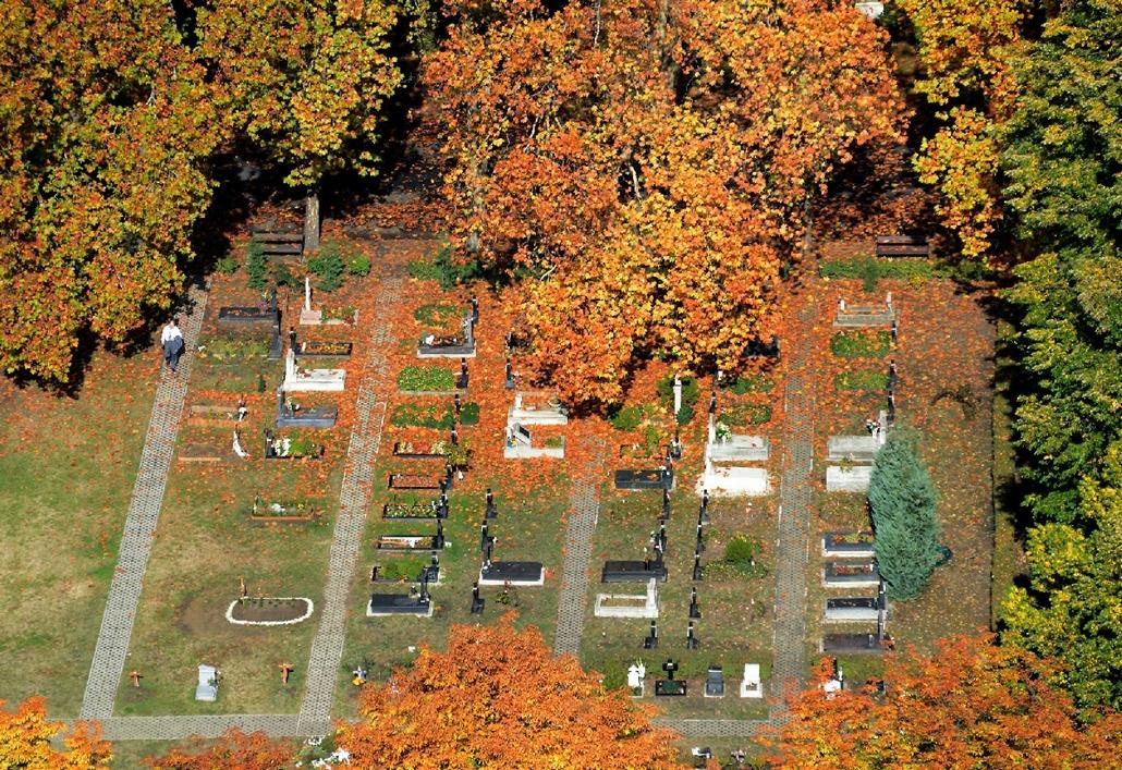 hszabo. temető a magasból 2014.10.29. légifotó