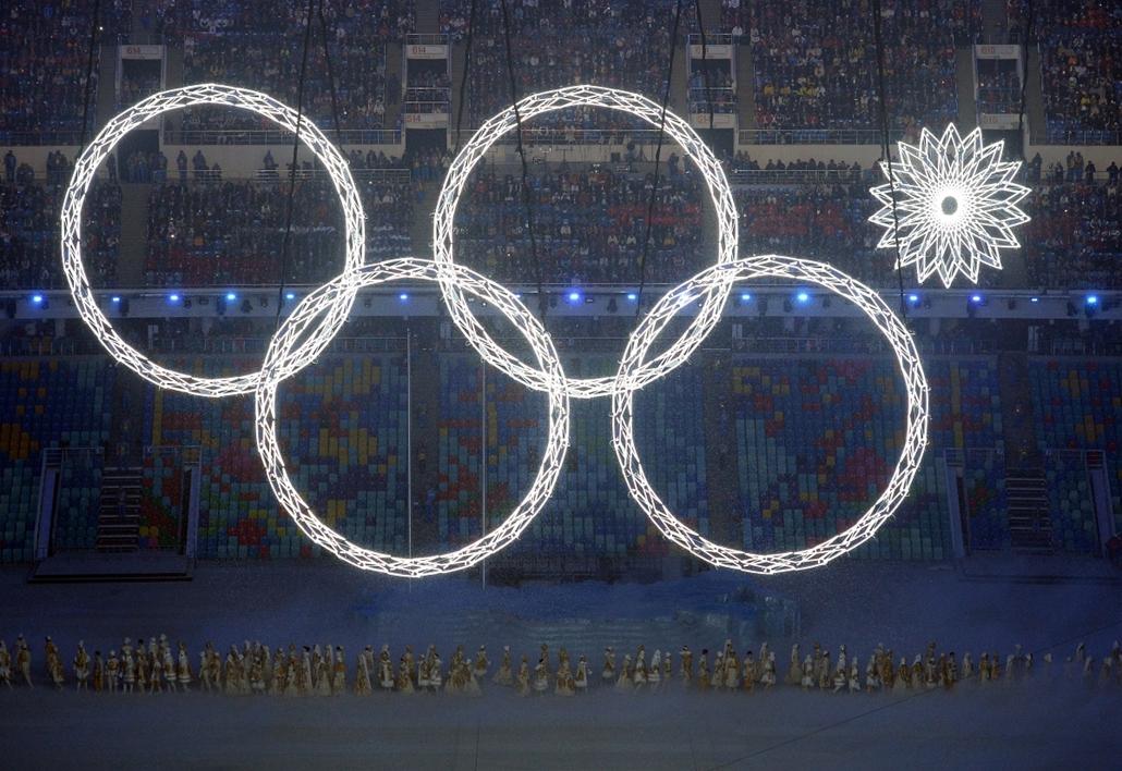 afp. szocsi téli olimpia 2014 2014.02.07 négykarika