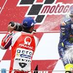 Egy év után győzött újra a szenzációs Valentino Rossi