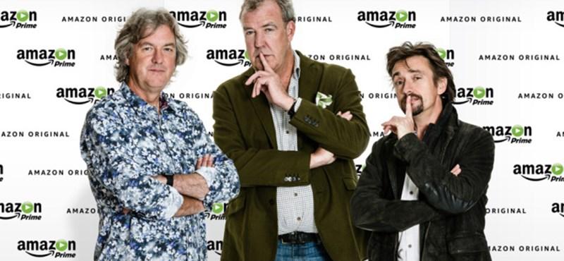 Az Amazonnál dolgozik tovább a Clarkson–Hammond–May-trió