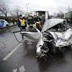 A görög válogatott tagjai sérültek meg a ferihegyi balesetben