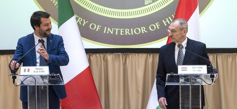 Nagy egyetértésben migránsozott Salvini Pintér Sándorral