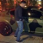 Fotó: Levizelték Balotelli autóját