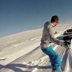 Lamborghini Huracan húzta a snowboardot