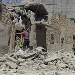 Újabb kórházakat bombáztak le Aleppóban