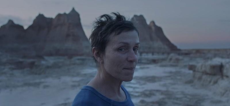 Frances McDormand kapta a legjobb női főszereplőnek járó Oscar-díjat