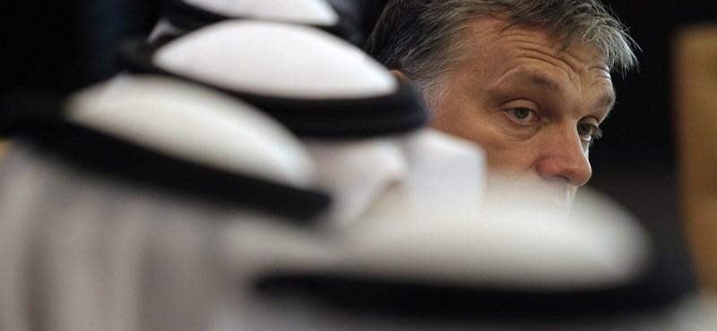 Orbán az araboknál: bárcsak minden ilyen flottul menne!