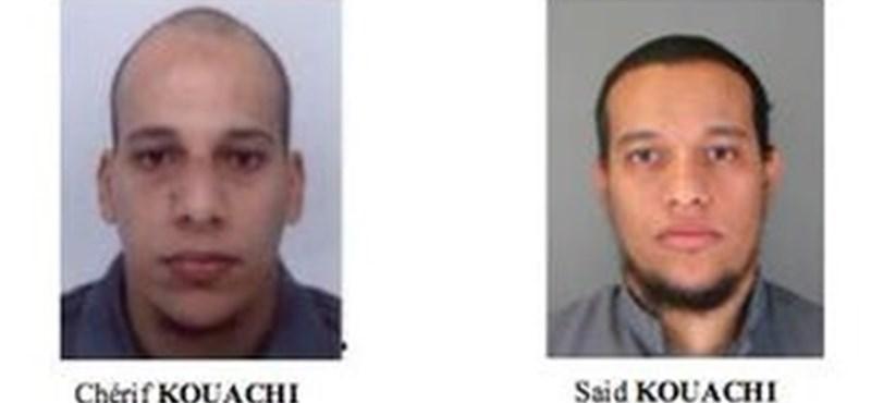 Több tízezer francia rendőr keresi a terrorista testvérpárt - percről percre