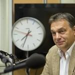 Orbán örül a tegnapi újságnak