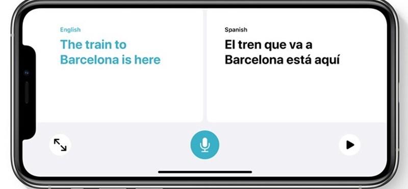 Saját fordító kerül az iPhone-okba – hogyan működik?