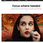 Fényképezővel készült képpel reklámozza a Samsung egy mobiljának fotós képességeit