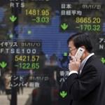 Estek az indexek az ázsiai tőzsdéken
