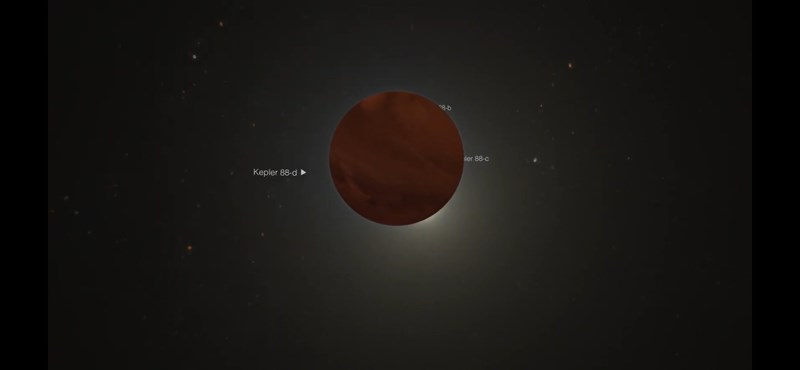 Hatalmas bolygót fedeztek fel egy távoli naprendszerben