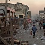 Hatalmas földmozgások előtt nyithatott kaput a haiti földrengés