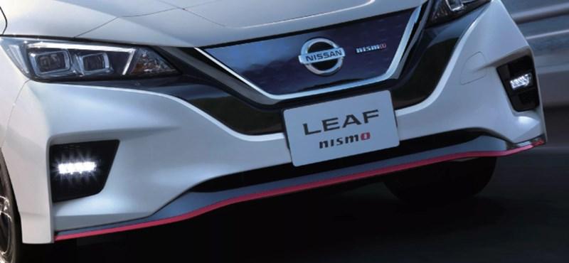 Hivatalos: megérkezett a sportos villanyautó, a Nissan Leaf Nismo