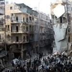 Minden kórházat kilőttek a kormányerők az ellenzéki területeken Aleppóban