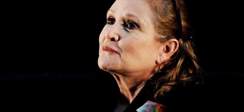 """""""Az erő ma elsötétült!"""" - így emlékeznek kollégái Carrie Fisherre"""