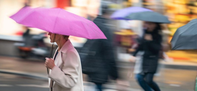 Esővel indul a hét, de fázni nem fogunk