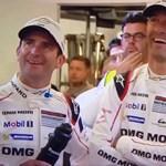 Mekkorát driftelt az esőben a Le Mans 24 órás verseny biztonsági autója! - videó