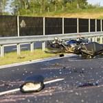 Fotók a zalai halálos motorbaleset helyszínéről