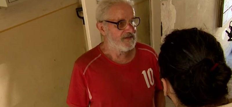 Videóüzenetben kéri a kilakoltatott idős férfi Budafoktól, engedjék vissza otthonába