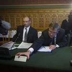 Matolcsy: a kormány lépésről lépésre akar haladni az IMF-tárgyalásokkal