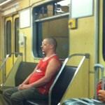 Elfogták a pesti metróutasokat rémisztgető férfit