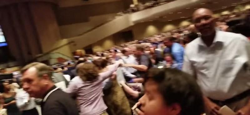 Bunyó tört ki egy ballagási ünnepségen: videó