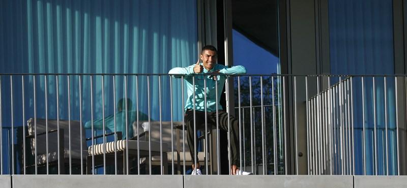 Ronaldo megsérthette az olasz előírásokat azzal, hogy visszatért Torinóba fertőzötten