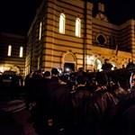 A Jobbik már a zsinagógában van - Nagyítás-fotógaléria