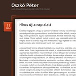 Oszkó: ügyetlen hazárdjátékot folytat a Fidesz