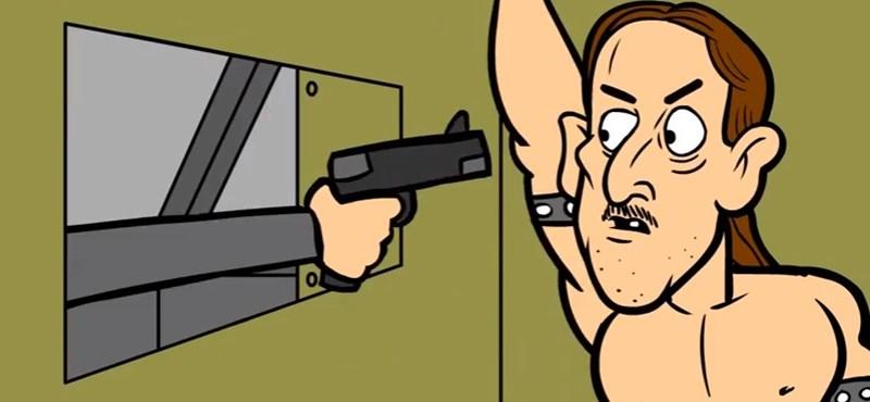 Véres-vicces animációval reklámozzák a rockfesztivált