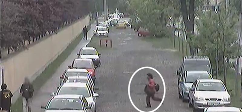 Igazi piócaként viselkedett egy rabló Kőbányán – videó