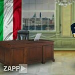Orbánt bohócként ábrázolta a német tévé – fotó, videó