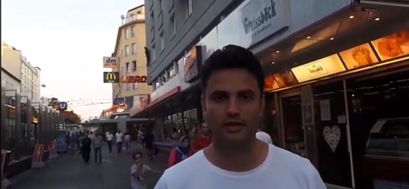 Márki-Zay is elkészítette a saját migránsos bécsi videóját