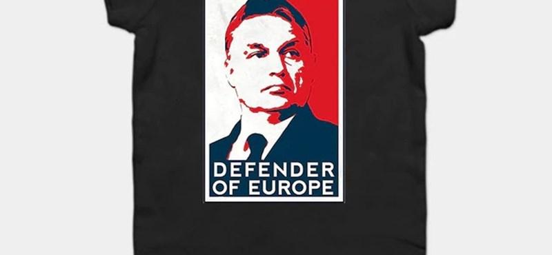 Az igazi keleti nyitás: az Aliexpress már babaruhát is árul Orbán Viktor arcképével