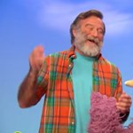 Robin Williams-emlékfal a Szigeten
