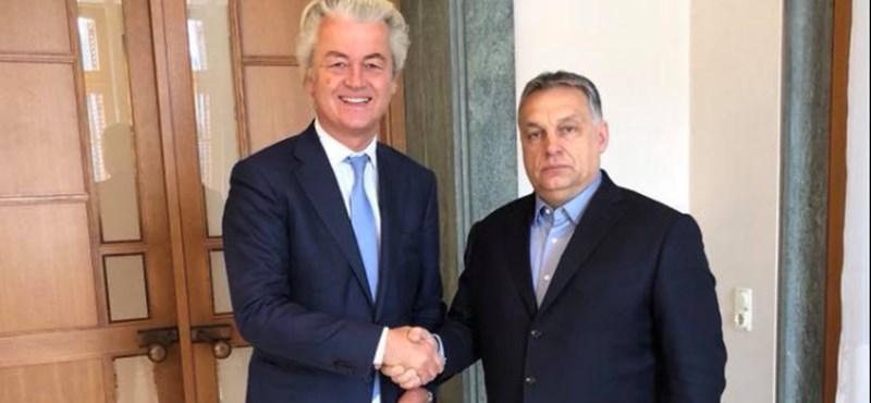 Budapesten van Orbán szélsőjobboldali csodálója