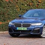 Benzin, villany két jóbarát: teszten a BMW 530e