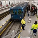 A 2-es vonalon kezdik tesztelni a 4-es metró első szerelvényét