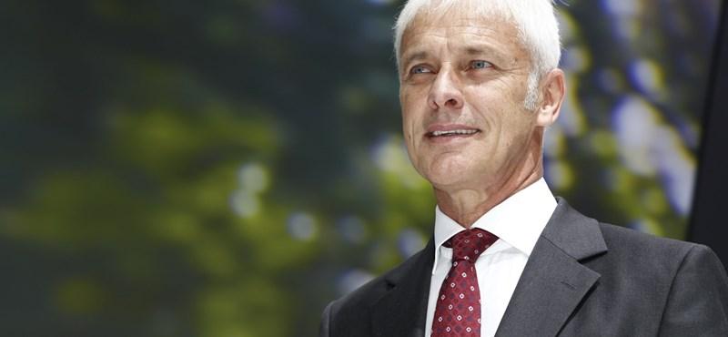 Matthias Müller lett az új VW-vezér