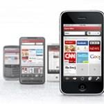 Opera miniböngésző az Apple telefonjaira