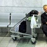 A ferihegyi sztrájk képei - fotógaléria