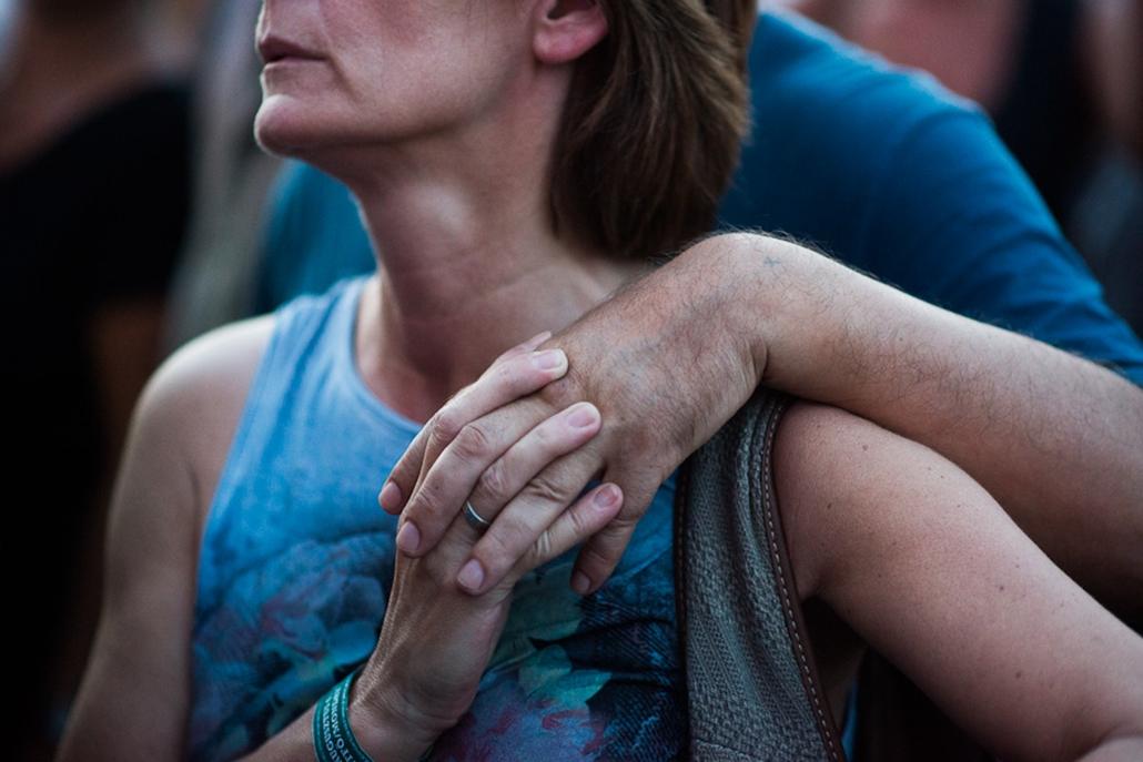 Sziget Fesztivál 2012, érintés, tapintás, 5 érzékszerv