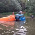 IFA-t találtak a Mosoni-Dunában – videó