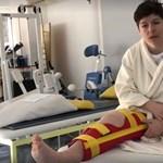 Megszólalt Miklós Edit a súlyos sérülés után – videó