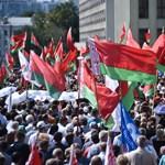 Ellentüntetésbe kezdtek Lukasenka hívei