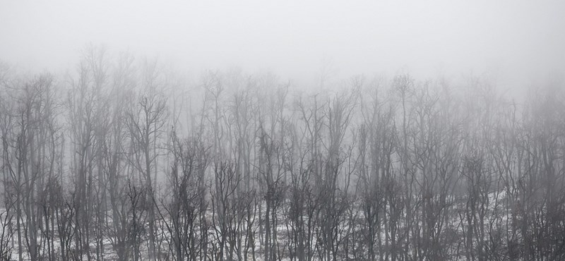 Szürke, ködös idő után köszönt be a fagyos időszak